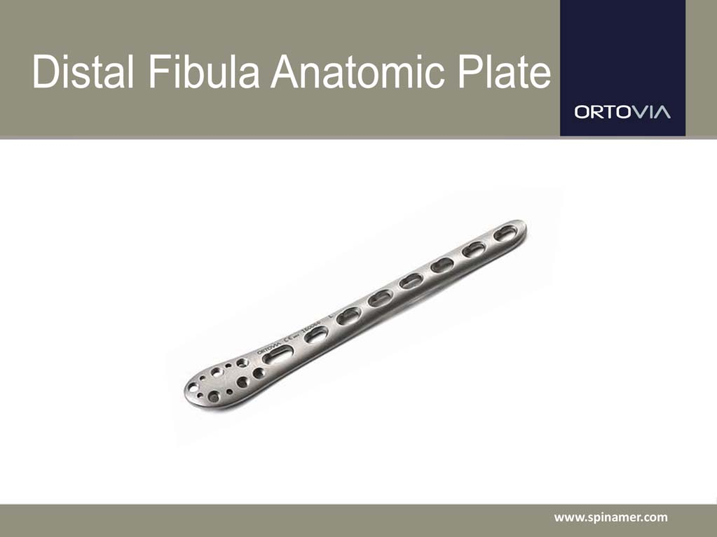 Spinamer | Distal Fibula Anatomic Plate